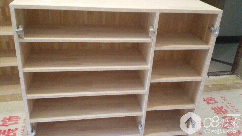 好,最终放上我家木工现场柜子图片