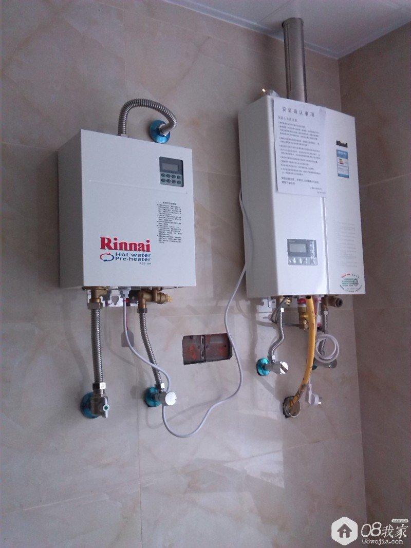 安装,抽油烟机和灶还有热水器和回水装置是在旺德府一起购的林内产品图片