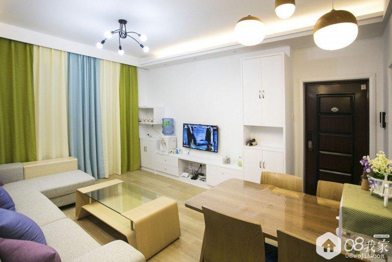 长沙四季星城现代简约rindy520设计实景装修效果图