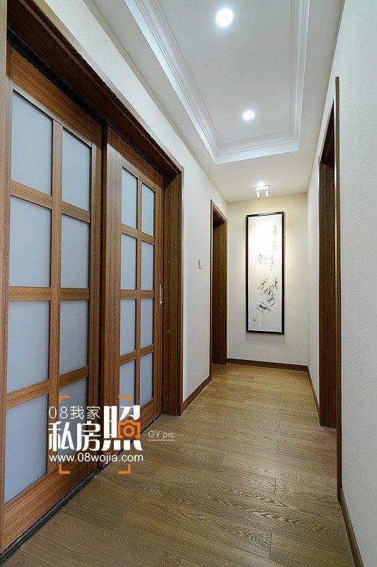 长沙天翼未来城日式四房叽歪设计实景装修效果图