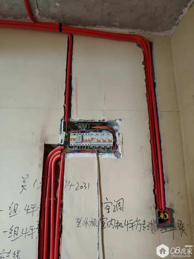 间隔,屏蔽都还是做到了,可以;   强电箱:   主要是增加了空调和