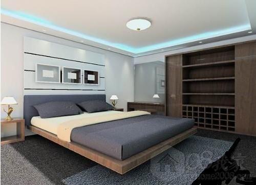 卧室房间衣柜装修效果图颜色搭配讲解