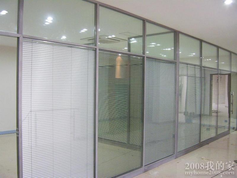 中空玻璃 夹 铝百叶 推拉门,定了这个厨房隔断门 合适么
