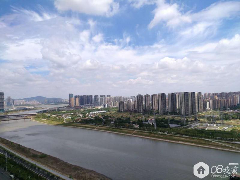 阳台江景图