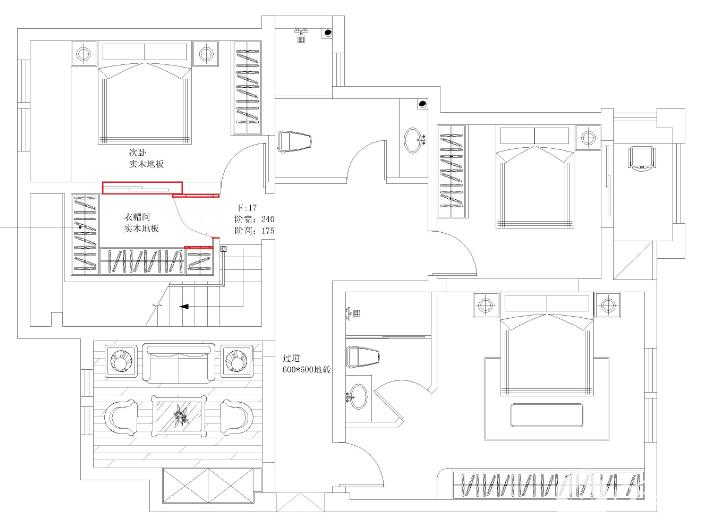 二楼平面图
