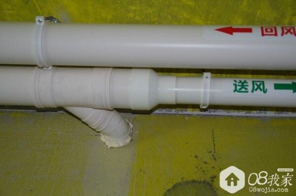 新风主管为110管径的情况下,支管需采用变径头转换为75管径,变径头应采用渐变大小同心头,不得采用补芯大  ...