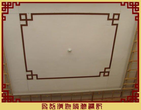 客厅吊顶线条造型已完成.jpg